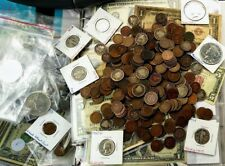 Vintage Coins & Currency Collection Lot of 70 Old US Coins & 1 SilverCertificate