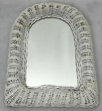 Espejo De Ventana Curvo arqueado Crema Rústico Shabby Vintage Chic Sala de pantalla