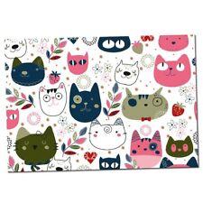 Napfunterlage für Katzen - rutschfestes Kautschuk 2mm - Futtermatte - Futternapf