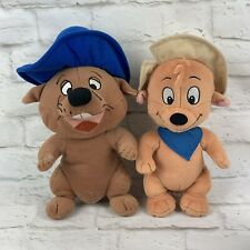 """Fancy Monkey Little Dogs on the Prairie 11"""" Scout 12"""" Gilroy Plush Tommy Nelson"""