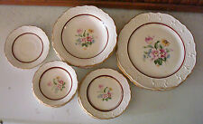 15 pc set Vogue Washington Colonial dinner plates bread butter bowl dinnerware