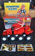 Vintage MOTU He-Man k/o KO Monster Hawk Vehicle MiB - 80s Junk!!! Box