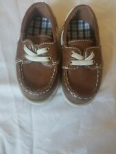 Carter's Infant Toddler Boys Size 5 Shoes Loafers Dress Casual Easy-on NWOT