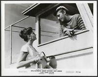 Rita Hayworth Robert Mitchum Original 1950 Promo Photo Fire Down Below