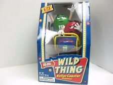 M&M 2ND EDITION WILD THING NEW ROLLER COASTER CANDY DISPENSER MARS INC 2002