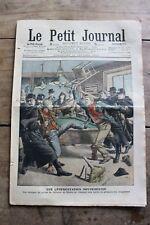 Petit journal illustré N°847 1907 Crime Av de Choisy Centenaire d'une victoire 2