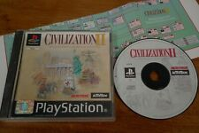 SONY PLAYSTATION PS1 GAME CIVILIZATION II