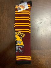 Harry Potter Gryffindor Knee High Socks Size 9-11 Shoe Size 5-10