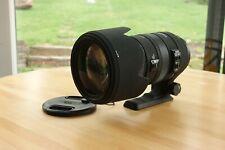 Sigma DG 50-500mm f/4.5-6.3 APO HSM DG RF OS AF Lens For Minolta/Sony A-Mount