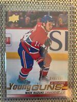 2019-20 Upper Deck Young Guns UD Exclusives Nick Suzuki Montreal Canadiens /100