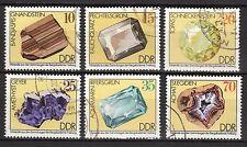 Germany / DDR - 1974 Minerals - Mi. 2006-11 VFU