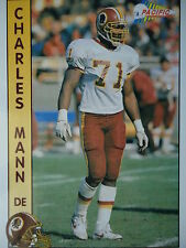NFL 645 Charles Mann DE Defensive End Pacific 1992