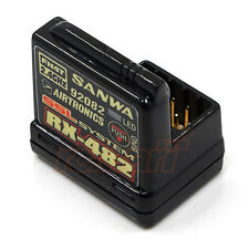 Sanwa RX482 4 Channel 2.4GHz Receiver 1:10 RC Car On Off Road Drift #RX-482