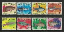 1978 Suriname Stamps Fish SG 921/28 Set 8 FU
