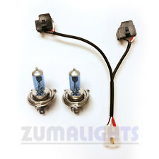 Yamaha Zuma 125 Dual Headlight Wiring Harness w/ 60/55w bulbs - 2009-2015 - kit
