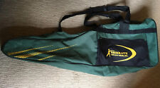 New listing ABSOLUTE FENCING GEAR GREEN CARRY FOIL HELMET BAG VGC