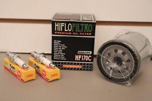 Harley Davidson Sportster 883 1200 Tune Up Kit Chrome Oil Filter NGK Spark Plugs