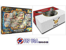 Mega Powers Collection & Super Premium Mew & Mewtwo Collection Pokemon Tcg