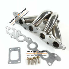 Stainless Exhaust Turbo Manifold For Suzuki Swift GTi G13B Engine T25/T28 Turbos