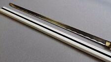 Handmade Sharp Ninja Anime NARUTO Sasuke Kusanagi Sword With White Scabbard