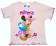 Neu! Disney Minnie Mouse T-Shirt Shirt Tunika rosa Baumwolle 92