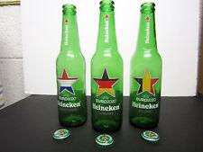Heineken Euro 2020 Empty Beer Bottles - Netherlands, Germany, Belgium