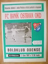 SPORTS Magazine : 1991 FC BANIK OSTRAVA OKD, 2 October