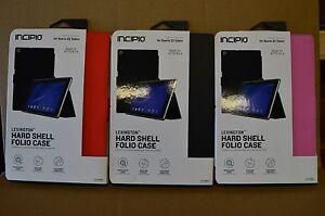 Incipio Lexington Hard Shell Folio Case Sony Xperia Z2 Tablet 3 Colors Available