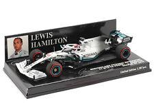 1 43 MINICHAMPS 417191144 MERCEDES AMG F1 W10 Germany GP 2019 Hamilton #44