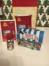 Christmas Hallmark Keepsake Looney Tunes Lunch Wagon Porky Pig Ornament NIB