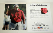 ARNOLD PALMER PGA GOLF LEGEND SIGNED AUTOGRAPH 8X10 PHOTO PSA/DNA COA #U04340