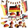 Deutschland Fan Artikel WM EM Fußball Germany Fahne Flagge Party Hut Fanartikel