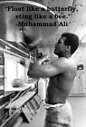 MUHAMMAD ALI - BEAUTIFUL POSTER PRINT WITH QUOTE - LOOKS AWESOME FRAMED