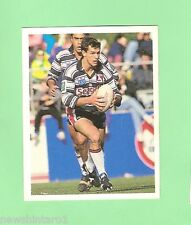 1993 SELECT RUGBY LEAGUE  STICKER - #105  CLINTON MOHR, GOLD COAST SEAGULLS
