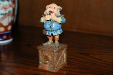 Efteling Holland Gnome Letter P Pipe Statue The Laaf Collection 1998 Ltd Ed