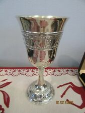 Antique Sterling Silver Goblets (set of 6)