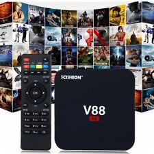 V88 4K Intelligent TV Box Rockchip Quad Core 1G+8G WI-FI MEDIA PLAYER