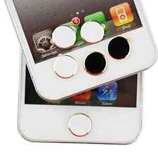 2pc Metal Home Button Sticker For iPhone 6 5S 5C 4 4S 3G 3GS iPod Touch iPad 2 3