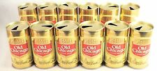 Vintage Old Chicago Pull Tab Beer Cans W/ Case Twelve Oz. 12 Cans! (Open)