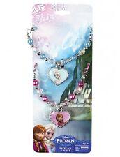 Disney Princess Frozen BFF Charm Necklace Best Friends Sisters Anna & Elsa Set 2