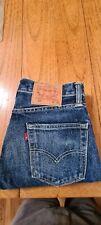 Mens Levis 511 Jeans Dark Blue Denim Original Zip Fly Navy W30 L30 - NEW