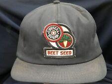 trucker hat baseball cap CRYSTAL BEET SEED retro rare rave cool style nice