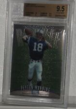 1998 TOPPS FINEST #121 PEYTON MANNING ROOKIE CARD GEM MT 9.5 BY BECKETT NICE