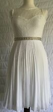 ELISE RYAN - LACE SWEETHEART SKATER DRESS - UNWORN - SIZE 8