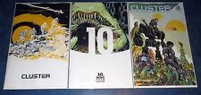 CLUSTER #1 1:20 1:10 variant + regular 1st print BOOM STUDIOS COMIC ED BRISSON
