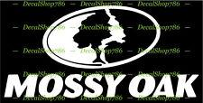 Mossy Oak - Outdoor Hunting Apparel - Vinyl Die-Cut Peel N' Stick Decals