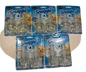 Renuzit Snuggle Linen Escape Essential Oil 5 Packages of 2=10 Refills  MAR21