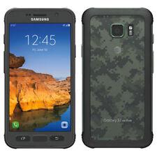 "Samsung Galaxy S7 G891A Active - 5,1"", 32GB, Camo Green + WL-Charger, Neuware"