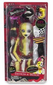 MGA Bratzillaz Switch A Witch Puppe kreiere deine eigene Hexe Kinder Spielzeug