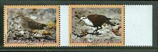 French Polynesia 2006 Island Birds Dove, Sandpiper on Set of Two Stamps MNH